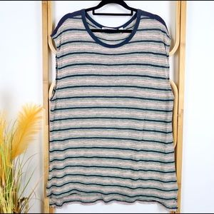 Country Road top size XL striped casual shirt